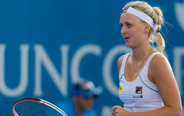 Украинская теннисистка М.Заневская получила гражданство Бельгии
