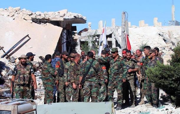 Асад вытеснил повстанцев из района в центре Алеппо