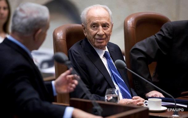 Умер экс-президент Израиля Шимон Перес