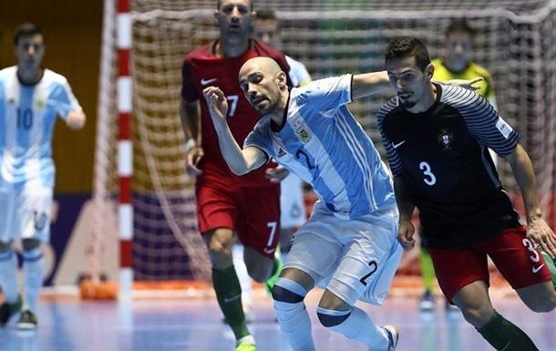 Футзал. ЧМ-2016. Аргентина выходит в финал