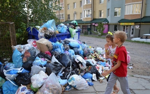 Запорожье отказалось принимать львовский мусор