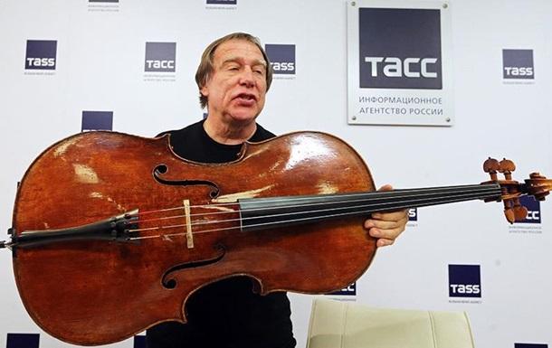 Ролдугин показал виолончель из рассказа Путина