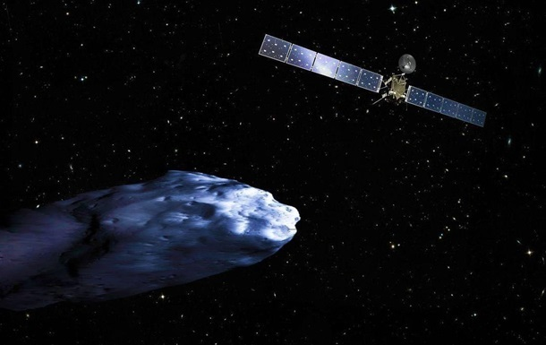 Зонд Rosetta направлен на столкновение с кометой