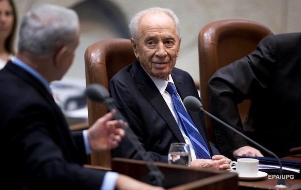 Нетаньяху иАббас пожали друг другу руки перед прощанием сПересом