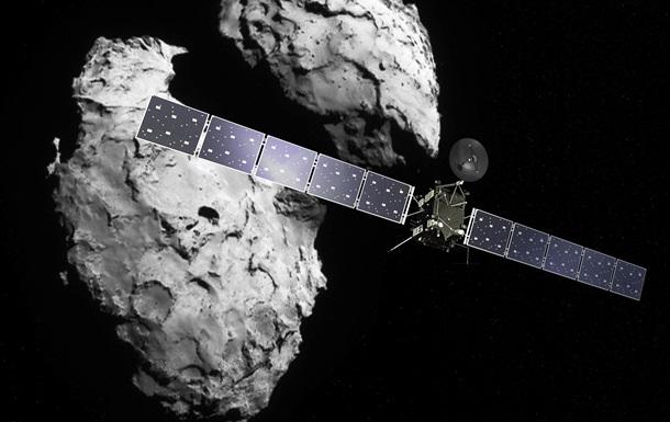 Зонд Rosetta столкнулся с  украинской  кометой