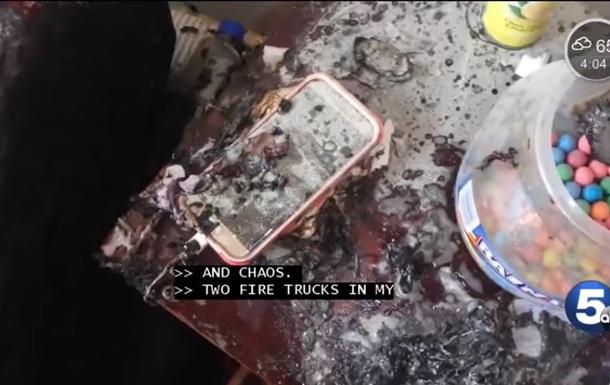 Смартфон Galaxy S7 спровоцировал пожар