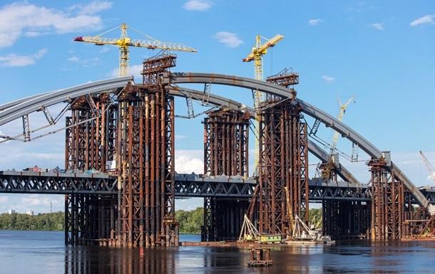Строить мост на Троещину помогут инвесторы из Японии и Германии – Кличко