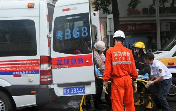 В Китае обрушились два жилых дома, есть пострадавшие