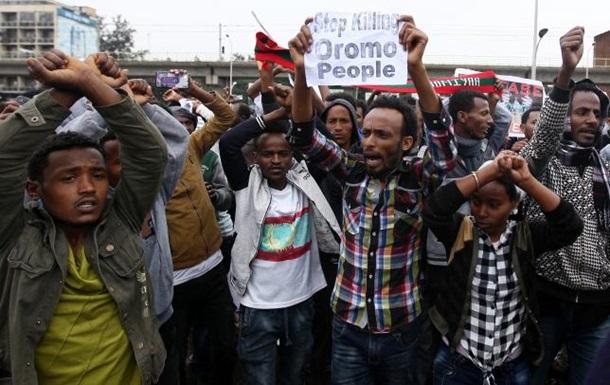 Около 50 человек погибли в Эфиопии во время протестов