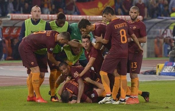 Серия А. Рома одолела Интер