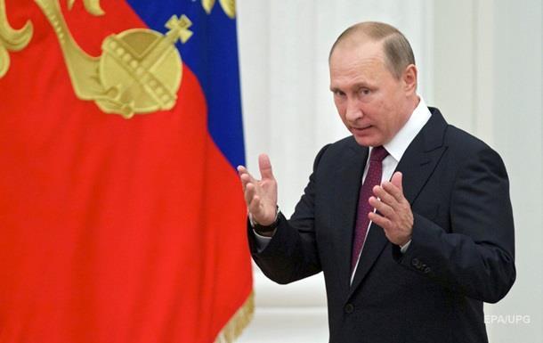Путин подписал указ о создании Росгвардии