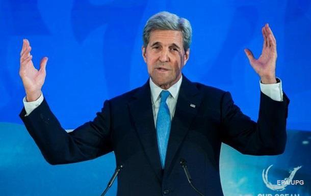 Керри: Россия отказалась от дипломатии в Сирии