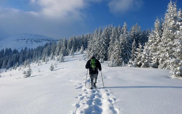 Вкарпатских горах государства Украины выпал 1-ый снег