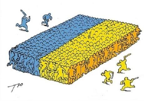 """Демократический """"булыжник"""" для умного народа"""