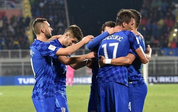 Отбор ЧМ-2018. Группа I. Хорватия громит Косово, Исландия вырывает победу