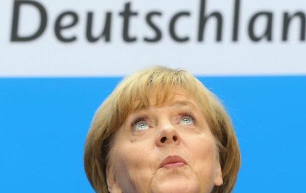 Рейтинг Меркель резко вырос за месяц