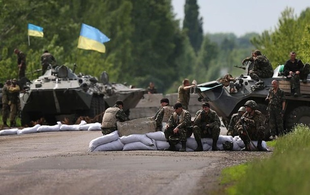 Киев отложил отвод войск в Станице Луганской