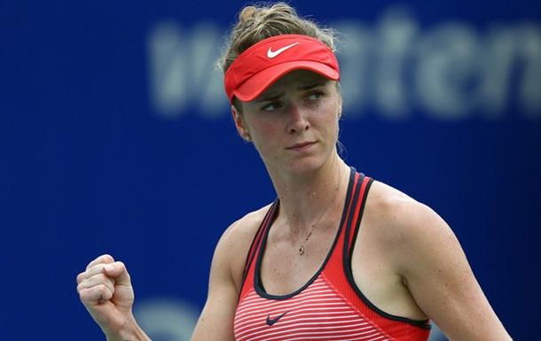 Свитолина выходит в полуфинал China Open