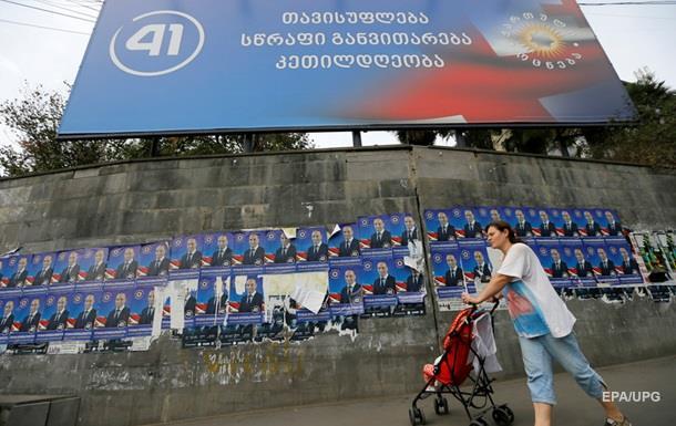 Парламентские выборы вГрузии проходят при довольно высокой активности избирателей