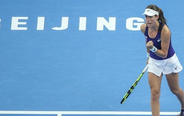 Конта - первая финалистка China Open