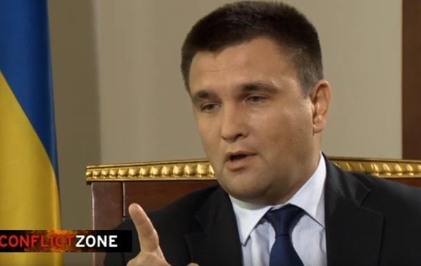 Минск мертв: У Климкина взяли  неудобное  интервью