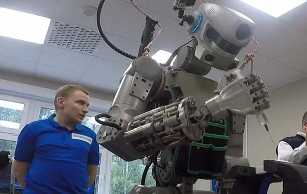 В России показали своего космического андроида