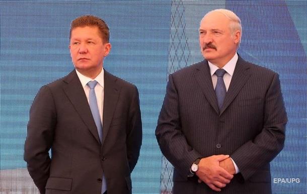 Білорусь сплатить Росії $300 млн боргу за газ