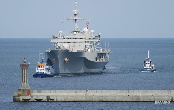 В Черное море вошел флагман VI-го флота США