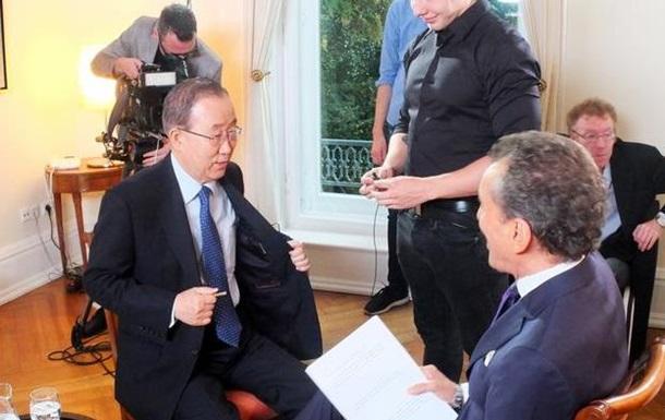 Асад виновен в гибели 300 тысяч сирийцев – генсек ООН