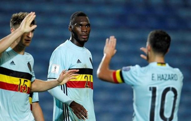 Рекордный гол Бентеке в обзоре матча Гибралтар-Бельгия
