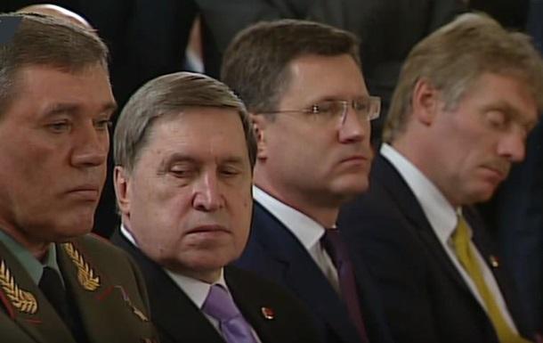 Песков уснул на выступлении Путина и Эрдогана
