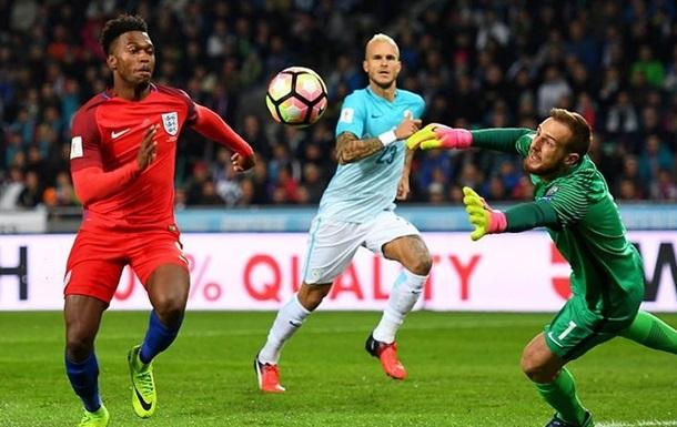 Группа F. Англия не забила Словении, победы Литвы и Словакии