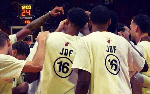 Игроки Майами почтили память Хосе Фернандеса
