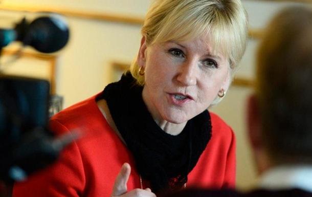 Швеція закликала ЄС до  сирійських  санкцій проти Росії