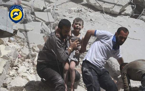 Война в Сирии. РФ укрепляется, США готовит санкции