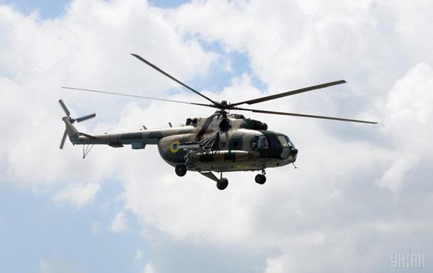ДНР украинский вертолет