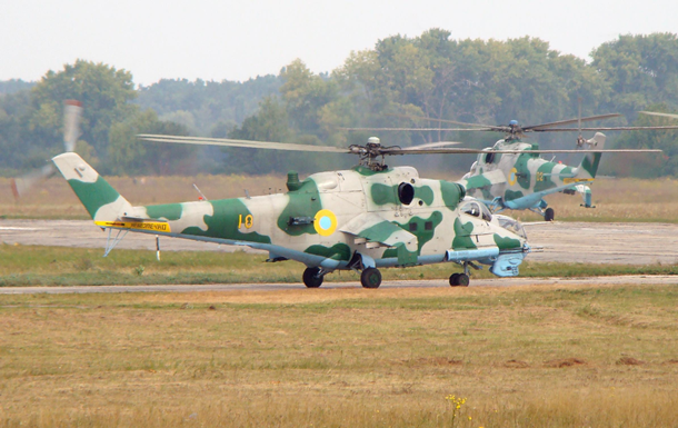 В штабе АТО опровергли сбитый вертолет