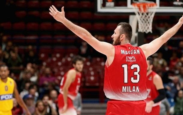 Евролига. Милан и ЦСКА выигрывают, победное начало Блатта