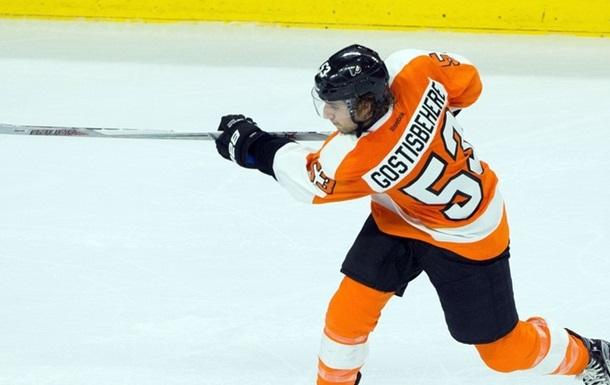 НХЛ. Защитник Филадельфии получил коньком по лицу