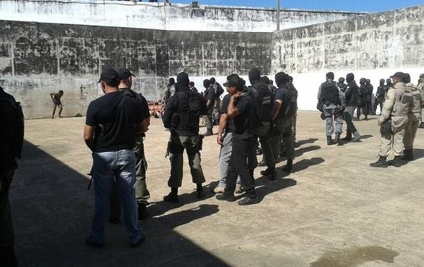 В Бразилии во время бунта в тюрьме погибли 25 заключенных