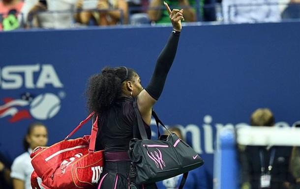 Серена Уильямс снялась с итогового турнира года