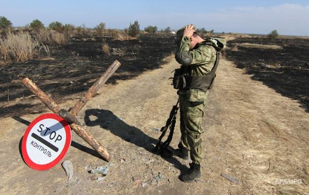 В Луганской области подорвалась машина с военными