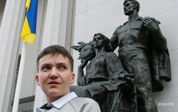 Савченко дала показания СБУ по поездке на Донбасс