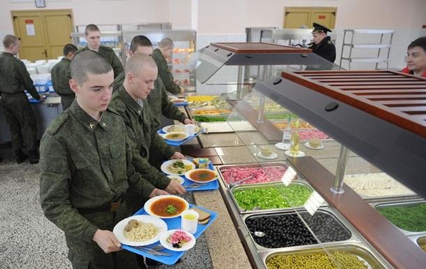 В Приамурье солдатам выдают еду по отпечаткам пальцев