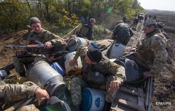 АТО: Позиции ВСУ обстреляли 57 раз
