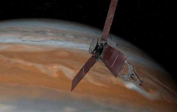 У зонда Juno на орбите с Юпитером возникли проблемы