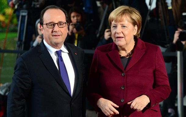Меркель и Олланд осудили действия России в Алеппо