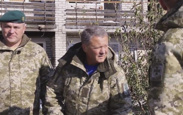 Тренер Маркевич попал под обстрел на Донбассе