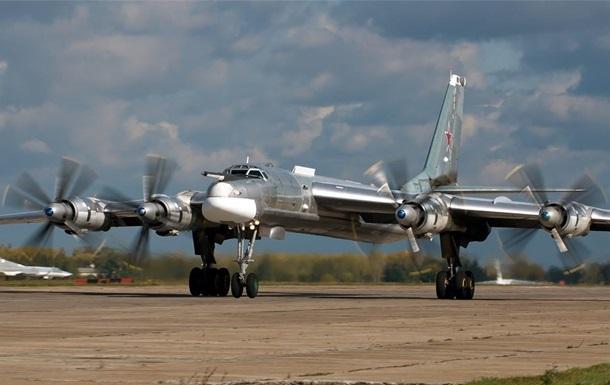 Под Иркутском зажегся стратегический бомбардировщик Ту-95МС