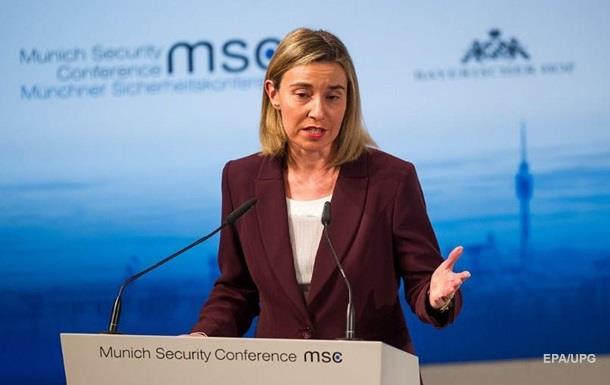 Могеріні: Введение санкций на саммите ЕС обсуждать не будут
